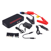 Super Capacity 68800MAH Car Jump Starter Emergency Vehicle Battery Power Bank Charger With Safety Flashing Light