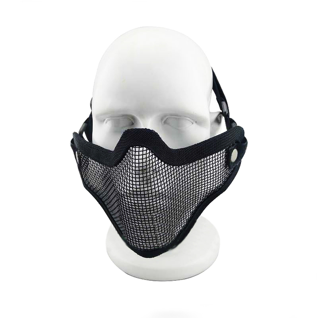 Littie Bee Shape Tactical Mask with clean cloth Protective Mirror Face Mask  for Nerf Toy Gun