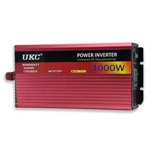 UKC 12V 4000W/4KW Modified Sine Wave Inverter 12V 220V/110V Car power inverter -with Battery Cable full protection