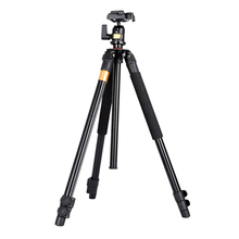 Moveski Q308 Professional Photographic Portable Mini Tripod For Camera With Aluminum Alloy Tripods For Gopro Accessories