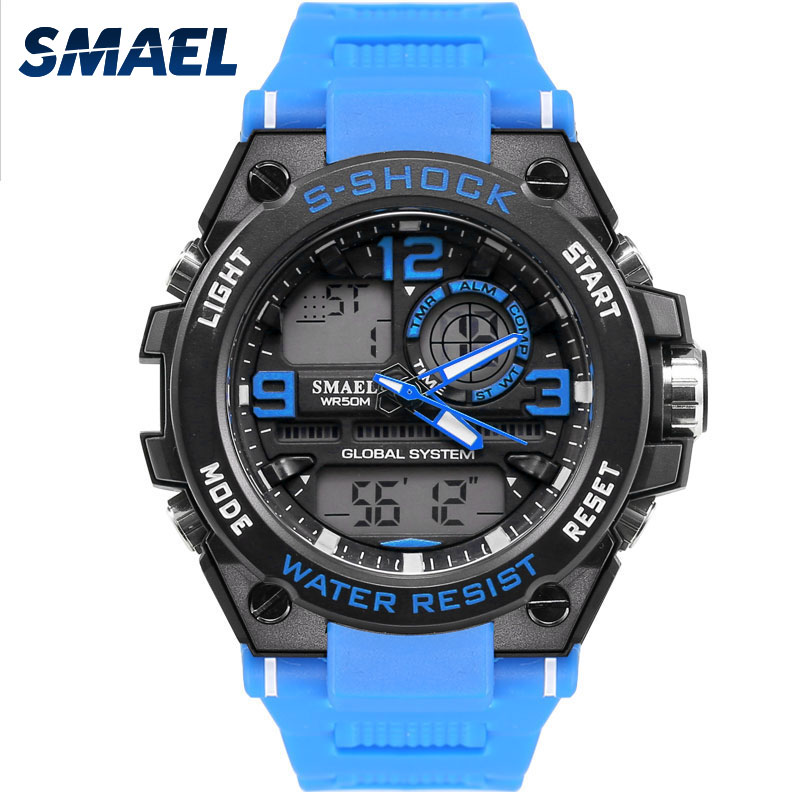 2017 Male Watch Fashion Blue Style Sport Men Watches Casual Modern Relogio Masculino Montre Saat De <font><b>Klok</b></font> Armbanduhren 1603
