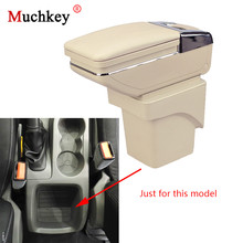 Car Console Armrest Box For Ford Focus mk2 2009 2010 2011 Central Storage Box With Cup Holder Ashtray Car Styling Arm Rest Box