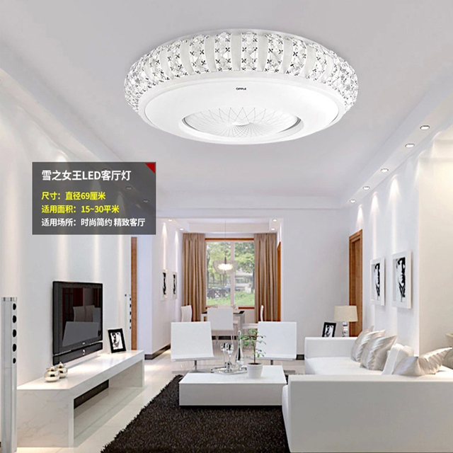 Op verlichting plafond lampen kristal lamp woonkamer