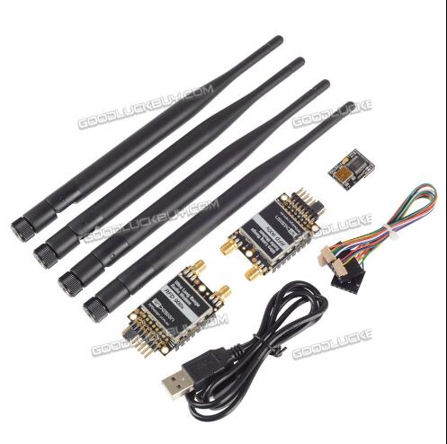 RFDesign RFD 900x Remote900X transmetteur vidéo longue distance pour APM PX 40 KM 3DR