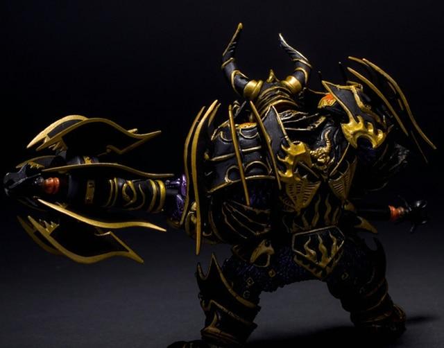 Hit WOW Online Game Series 1 Dwarf Warrior THARGAS ANVILMAR Action Figure PVC Toy (Chinese Ver.) 3