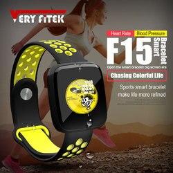 VERYFiTEK F15 умный браслет часы крови Давление кислорода настроить часы циферблат Фитнес трекер монитор сердечного ритма Смарт Браслет