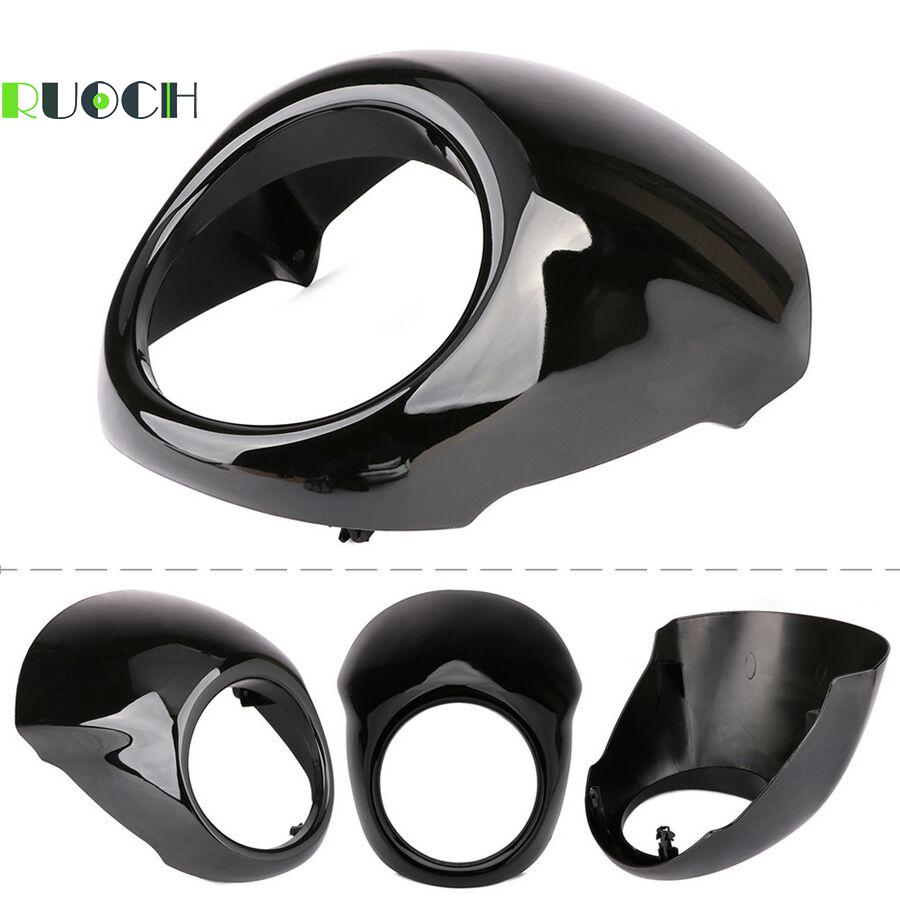 "Motorcycle Accessories 5.75"" Headlight Fairing Cowl Cover For Harley Street XG 500 XG750 XG500 XG 750 2014-2019"