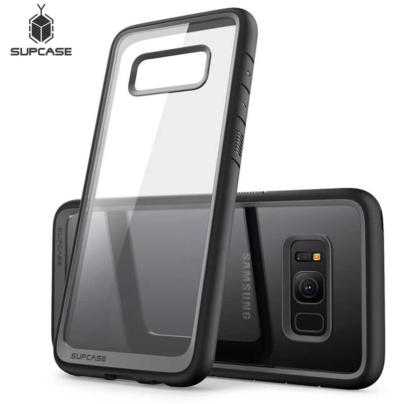SUPCASE For Samsung Galaxy S8 Plus (2017 Release) UB Style Premium Hybrid Protective TPU + PC Slim Clear Case Back Cover For S8+