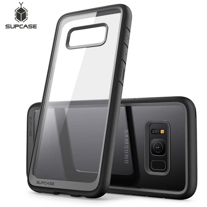 SUPCASE For Samsung Galaxy S8 Plus (2017 Release) UB Style Premium Hybrid Protective TPU + PC Slim Clear Case Back Cover For S8+|Fitted Cases| |  - title=