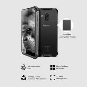 "Image 4 - Blackview BV9600 פרו IP68 עמיד למים נייד טלפון Helio P60 6GB + 128GB 6.21 ""19:9 AMOLED 5580mAh אנדרואיד 9.0 המוקשח Smartphone"