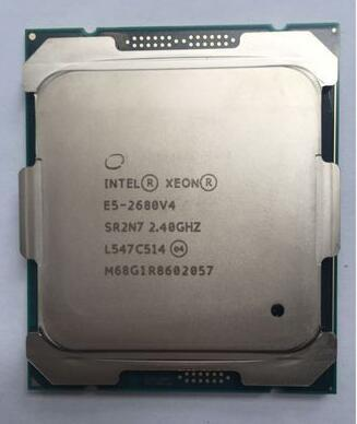 E5 2680V4 E5-2680V4 XEON Процессор 2.40 ГГц 14-жильный 35 М 14NM E5-2680 V4 FCLGA2011-3 TPD 120 Вт 1 год гарантия