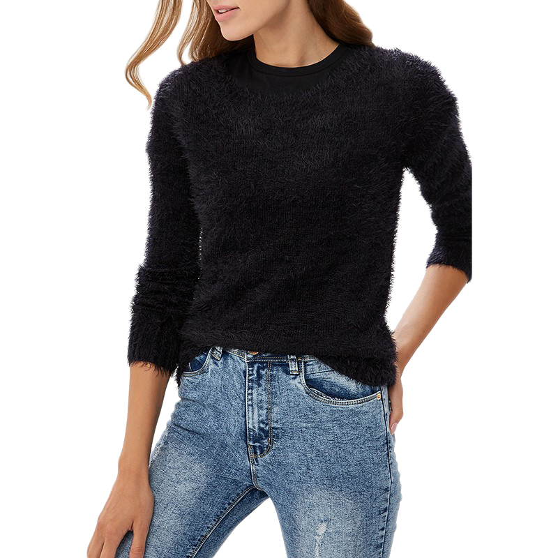 Sweaters MODIS M182W00353 jumper sweater clothes apparel pullover for female for woman TmallFS t shirts modis m181w00280 women jumper sweater clothes apparel pullover for female tmallfs