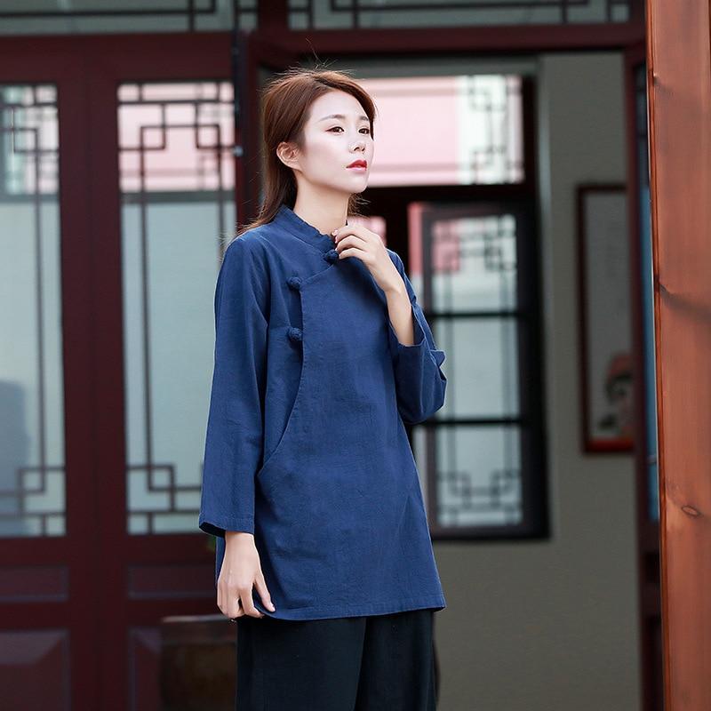295d788a0 1 Blusas Camisa Chino Larga Mujer Ropa Tops 2018 2 Kimono 3 Estilo Aa4266  Blusa Y 4 Largo Mujeres q746q