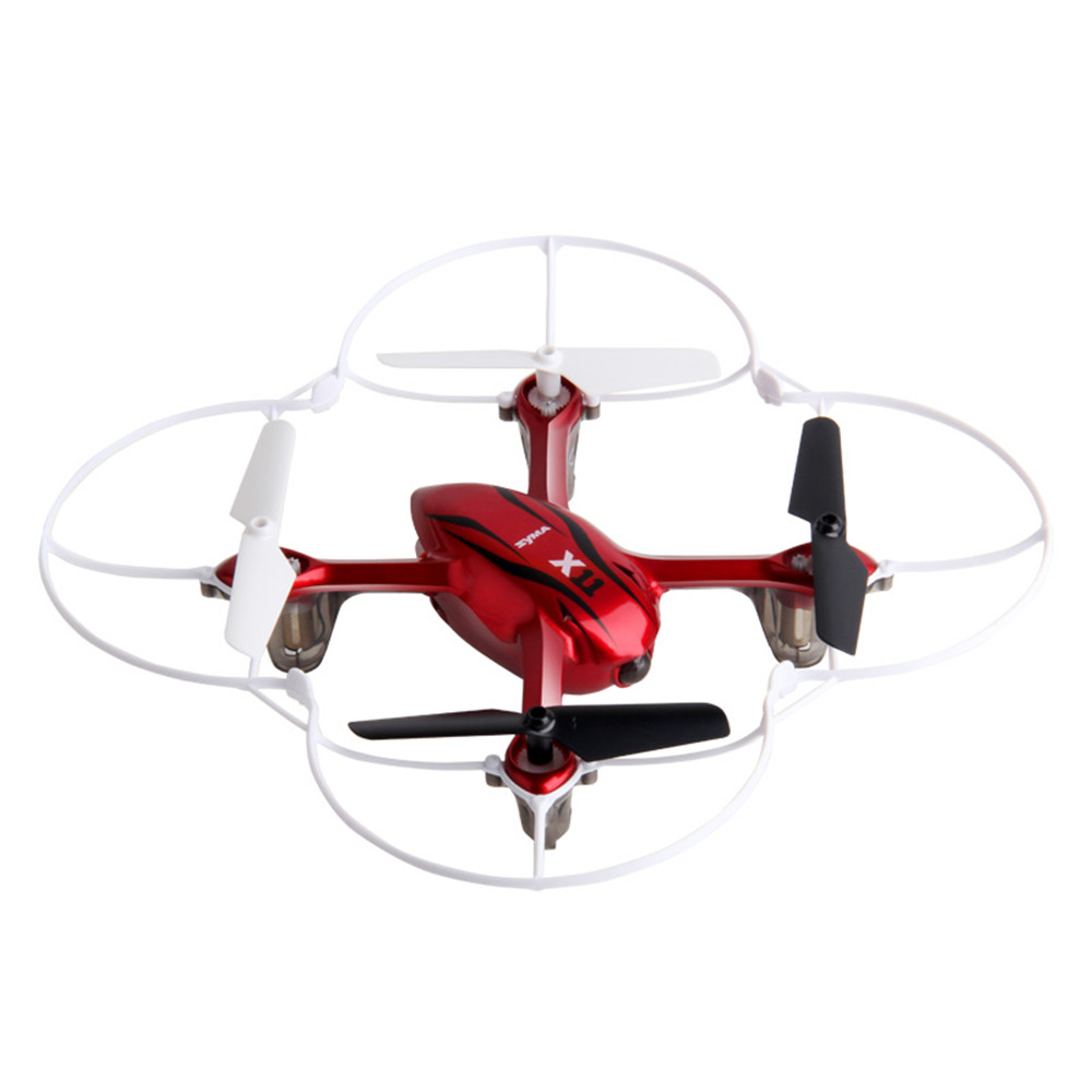 HOT Syma X11 4CH 2.4GHz Mini Quadcopter without Camera HD Micro Drone Pocket Quadrocopte ...