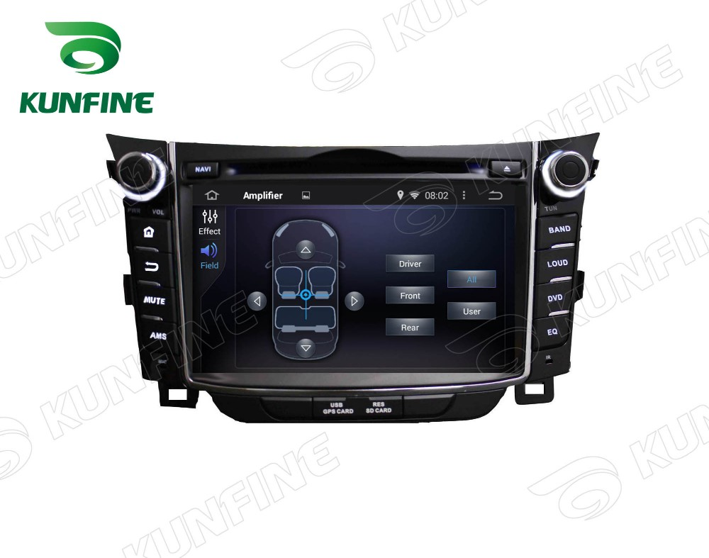 Car dvd GPS Navigation player for I30 2011-2013 7 inch A