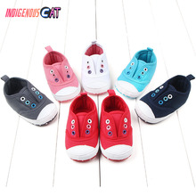 0-18M Classic Canvas Baby Shoes Newborn First Walker Fashion Boys Girls Cotton Casual for Sneakers