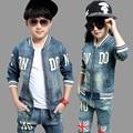 Детский джинсовый костюм (унисекс)