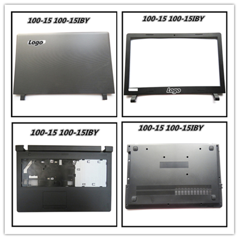 Laptop LCD Back Cover Bezel Frame Housing Case For Lenovo Ideapad 100-15 100-15IBY Hinges Braket