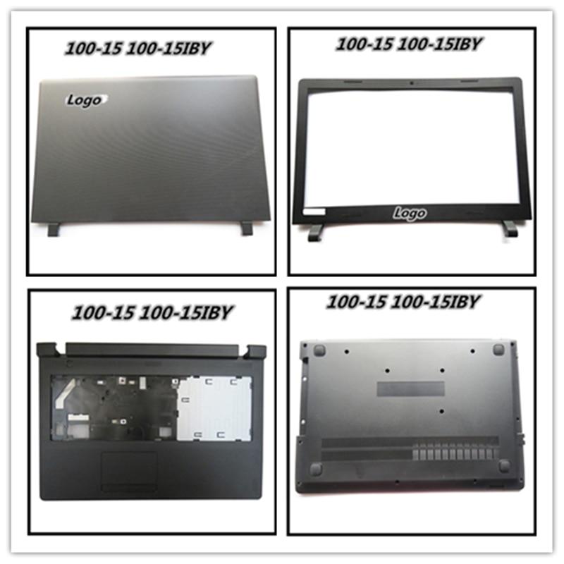 Laptop LCD Back Cover Bezel Frame Housing Case For Lenovo Ideapad 100-15 100-15IBY Hinges Braket