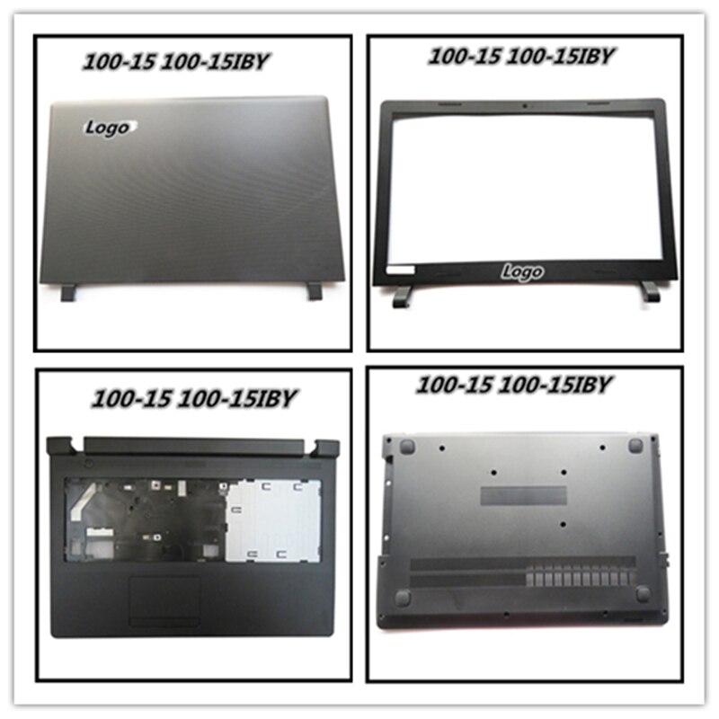 Laptop Part For Lenovo Ideapad 100-15 Lcd Rear Back Cover Top Sheel Screen Lid AP1ER000100 Black