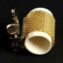 Boquilla de saxofón Alto compatible con Saxofón Soprano, Saxofón Tenor, boquilla de Metal, accesorios