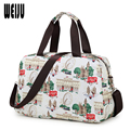 Fashion Women Travel Bag New 2016 Luggage Handbag Print Travel Duffle Bags Casual Waterproof Tote Bag 43cm*28cm*16cm