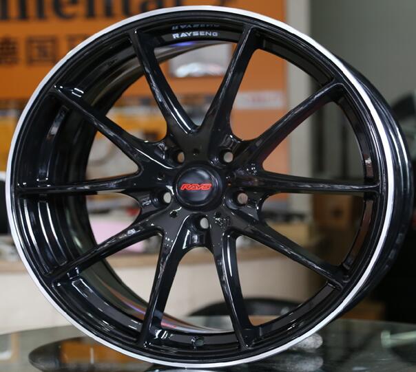 Konig Impression 60MB 60×60 60×1060 Black Machined Wheels Rims 60 Amazing 5x105 Bolt Pattern