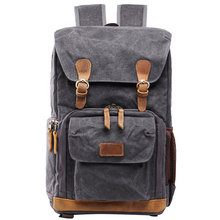 Organizer Travel Canvas Front Open Bag SLR DSLR Storage Came