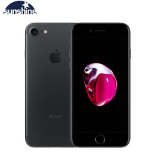 Для Apple iPhone 7/ч, 4G, LTE, отпечаток пальца, смартфон мобильный телефон на базе операционной системы IOS 10 4 ядра 2G Оперативная память 256 ГБ/128 ГБ/32 ГБ флэш-памяти, Встроенная память 4,7 ''12. 0 MP