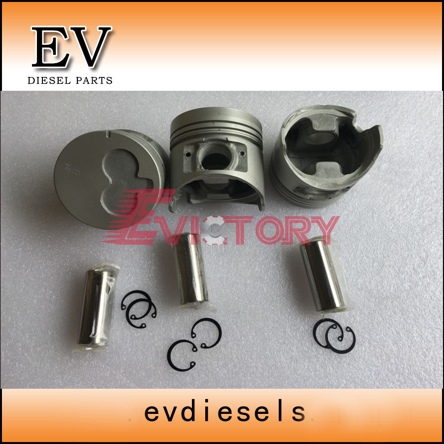 3LD1 piston 8-97235-556-0 include piston pin and clip for Hiatch EX35U mini excavator3LD1 piston 8-97235-556-0 include piston pin and clip for Hiatch EX35U mini excavator