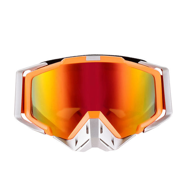2016 High Quality Orange Adult Motorcycle Protective Off-Road Motocross Goggle Young Motorbike Dirt Bike MTB Downhill Glass