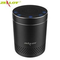 ZEALOT S15 Không Dây Bluetooth Loa Di Động Hợp Kim Nhôm Điều Khiển Cảm Ứng HiFi Stereo Âm Thanh Vòm 3D Ngoài Trời Subwoofer
