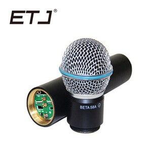 Image 5 - ETJ العلامة التجارية SLX24/BETA58 58A المهنية UHF اللاسلكية المزدوجة ميكروفون نظام يده ميكروفون سماعة الرأس