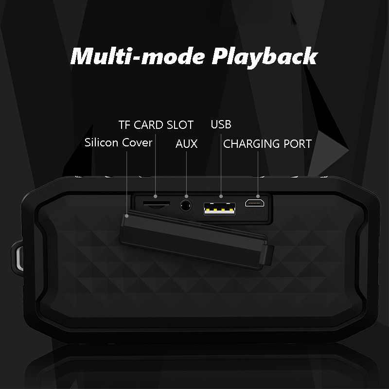 M3 ポータブル Bluetooth スピーカーワイヤレスステレオスピーカーサウンドシステム屋外防水スピーカー 10 ワット音楽サラウンド