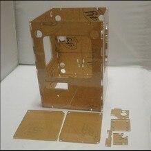 3d Printer ReprapTantillus 3D Printer 6mm Acrylic Laser Cut Frame kit/set 6mm thickness high quality free shipping
