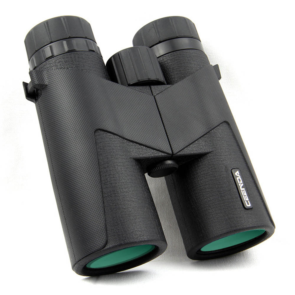10x42 Wide Angle Telescope HD IPX7 Nitrogen Waterproof Low Night Vision Binoculars for Bird Watching Travelling Hunting Camping eyeskey new 10x25 hd binoculars wide vision center focus optical lens outdoor camping bird watching hunting telescope waterproof