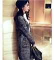 New 2016 Autumn Warm Gray Cardigan Sweater Jacket Fashion Casual Dress Loose Women's Sweater Sweater Coat Wholesale