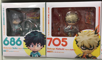 New My Hero Academia Boku no Hero Izuku Midoriya Katsuki Bakugo Hero`s Edition Nendoroid 686 # 705 # Action Figure Toys