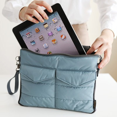 Hot Sale Liner Bag Notebook Bag Hand Carry Bag Digital Products Pouch Travel Bags for Mobilephone Tablet PC Wallet Purse 4 Color in Travel Bags from Luggage Bags