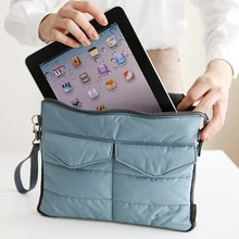 Купить с кэшбэком Hot Sale Liner Bag Notebook Bag Hand Carry Bag Digital Products Pouch Travel Bags for Mobilephone Tablet PC Wallet Purse 4 Color