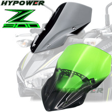 For Kawasaki Z900 Z 900 2017 Motorcycle Accessories Windshield Windscreen Pare-brise mtkracing for kawasaki z900 z 900 2017 2018 motorcycle accessories windscreen windshield plus long section increase high