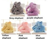 1 Stück 40 cm Schöne Cartoon Weiche Angefüllte Plüsch Elefant Beschwichtigen Spielzeug Baby Kinder Pädagogisches Geburtstag Kissen Puppen Geschenke