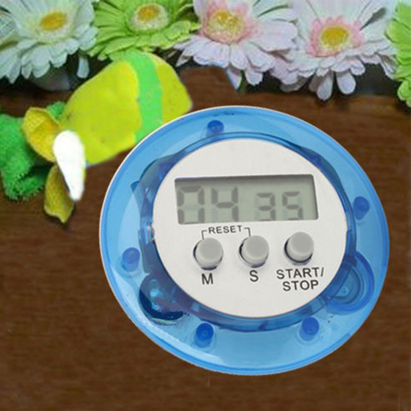 Image 2 - LCD Digital Kitchen Countdown Magnetic Timer Back Stand Cooking Timer Count UP Alarm Clock Kitchen Gadgets Cooking Tools-in Kitchen Timers from Home & Garden