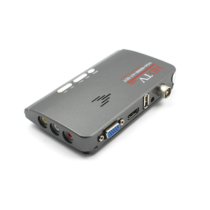 Image 2 - Hot 1080P HDTV DVB T/ DVB T2 TV Set top Box Digital Terrestrial HDTV Tuner Receiver HDMI/VGA/AV for LCD/CRT PC Monitor