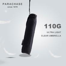 Parachase Folding Umbrella Rain Women Men Ultralight Portable Travel Japanese Windproof 6K Mini Clear Paraguas
