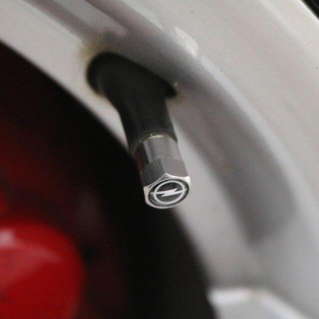 4 pièces nouveau boîtier de tige de bouchons de Valve de pneu de roue en métal pour Kia Ford Nissan Opel Lada Skoda Hyundai Audi Bmw Renault Alfa Romeo 5
