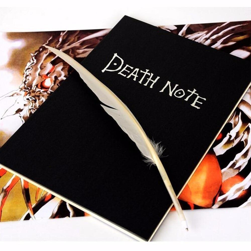 Good 2018 Planner Anime Death Note Book Lovely Fashion Theme Ryuk Cosplay Notebook New School Supplies Large Writing Journal недорго, оригинальная цена