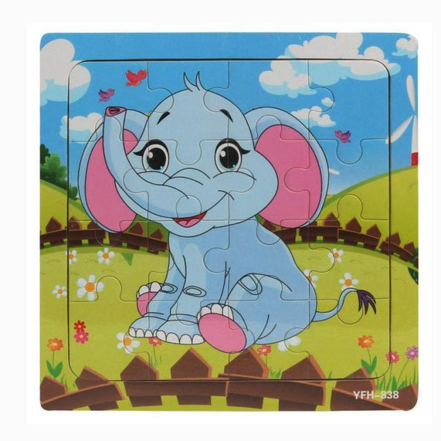 Baby Wooden Animal Puzzle
