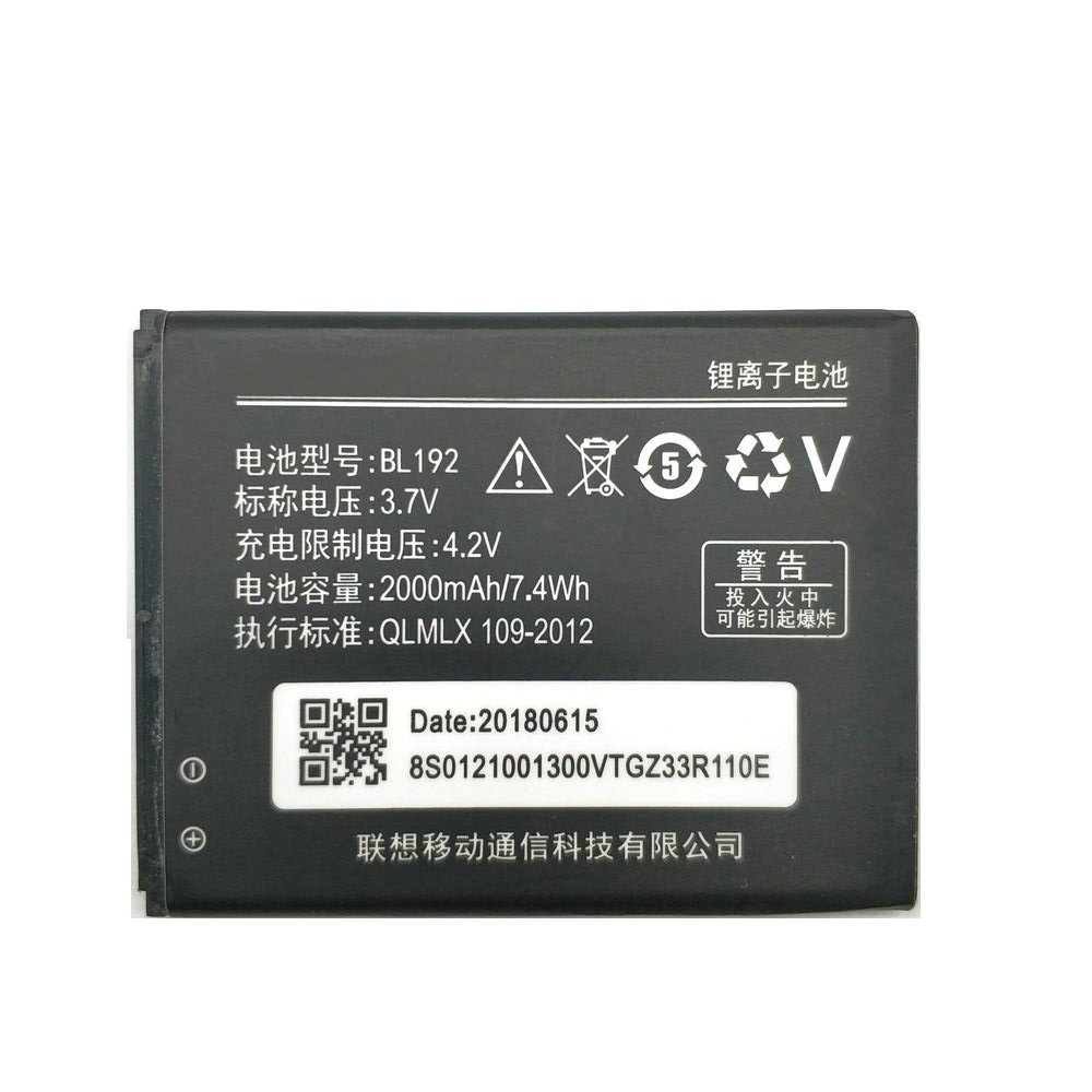 2019 New BL192 BL 192 Li-ion Phone Battery For Lenovo A300 A750 A328 A328T A526 A388T A529 A680 A590 A560 A505E Battery