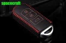 Genual leather key cover ,auto key holder,key wallet for Mazda 3 mazda 6 atenza, CX-5 CX-7 ,auto accessories,free shipping